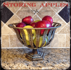 The Best Way To Store Apples