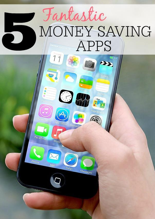 5 money saving phone apps