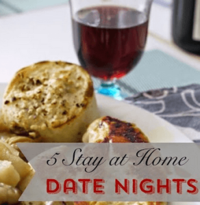 5 Stay At Home Date Nights