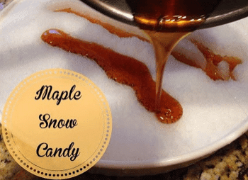 How To Make Maple Syrup Snow Candy
