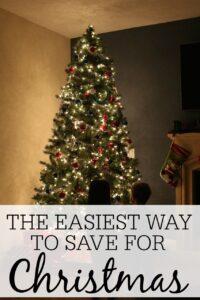 The Easiest Way to Save For Christmas
