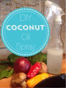 DIY Coconut Oil Spray