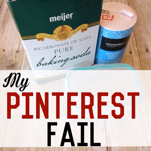 My Pinterest Fail