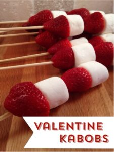 Strawberry and Marshmallow Kabobs