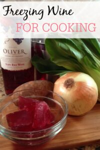 Easy Tips On Freezing Wine for Cooking
