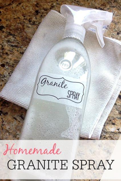 DIY granite spray