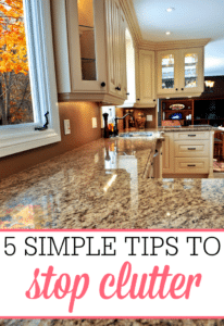 5 Simple Tricks To Stop Clutter