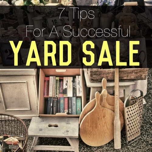 7 Tips For A Successful Yard Sale