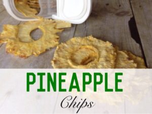 Dried Pineapple Chips