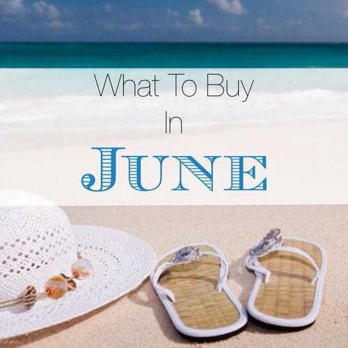 What To Buy In June - Frugally Blonde