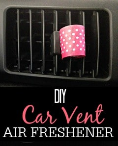 DIY Car Vent Air Freshener