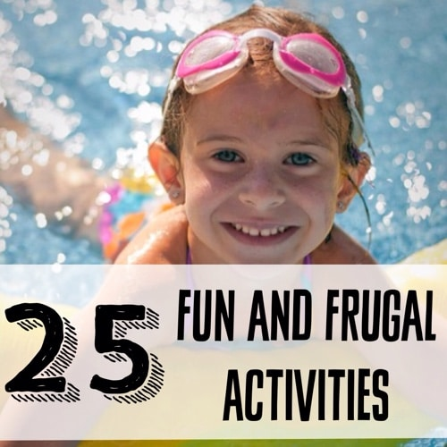 25 fun and frugal activities to beat summer boredom