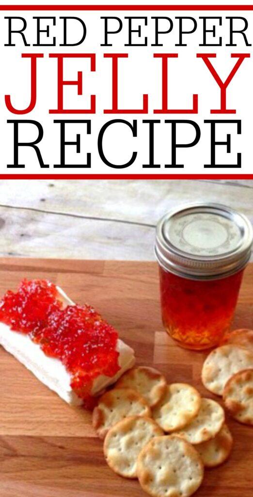red pepper jelly recipe