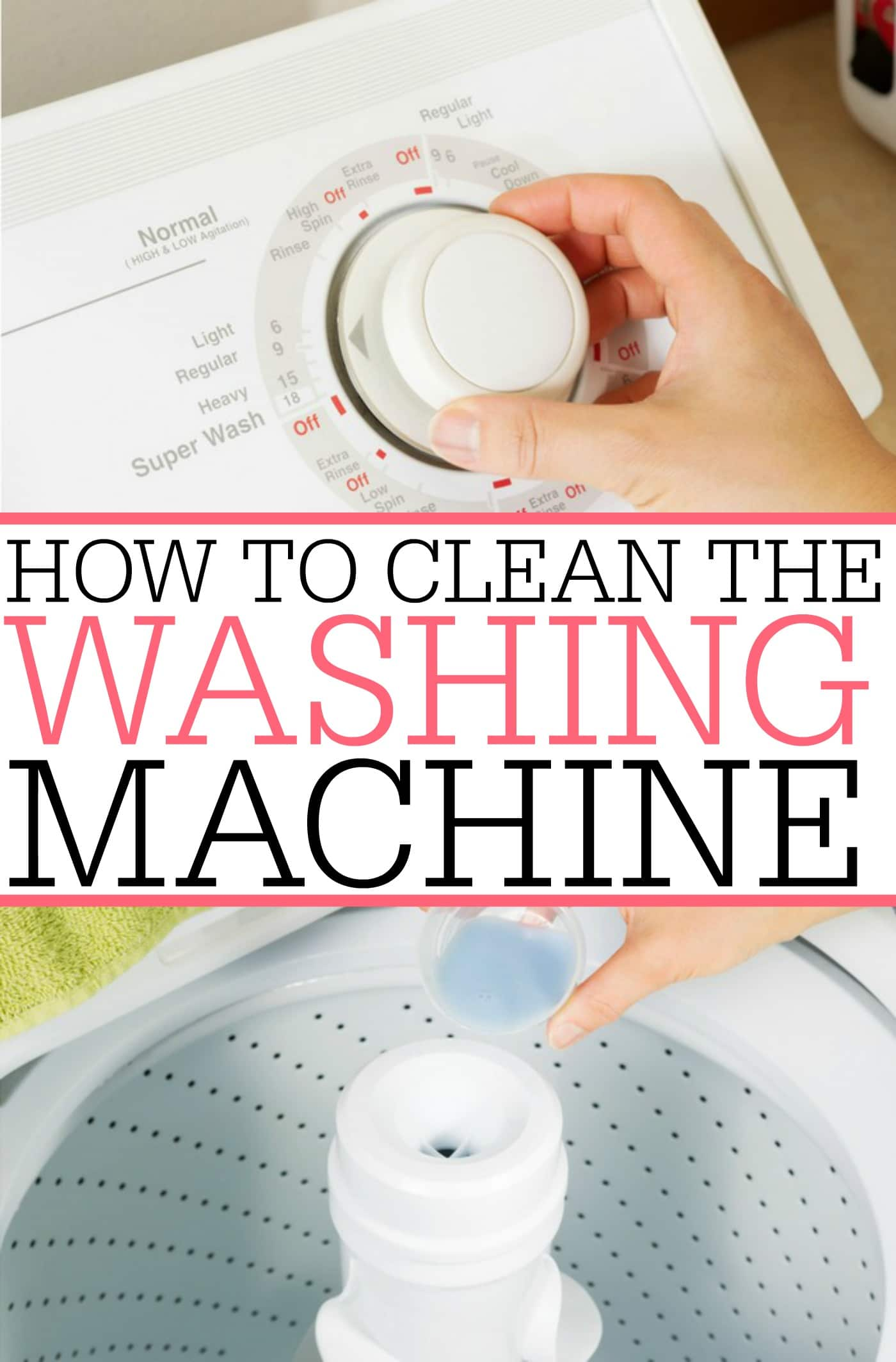 How To Clean The Washing Machine Frugally Blonde