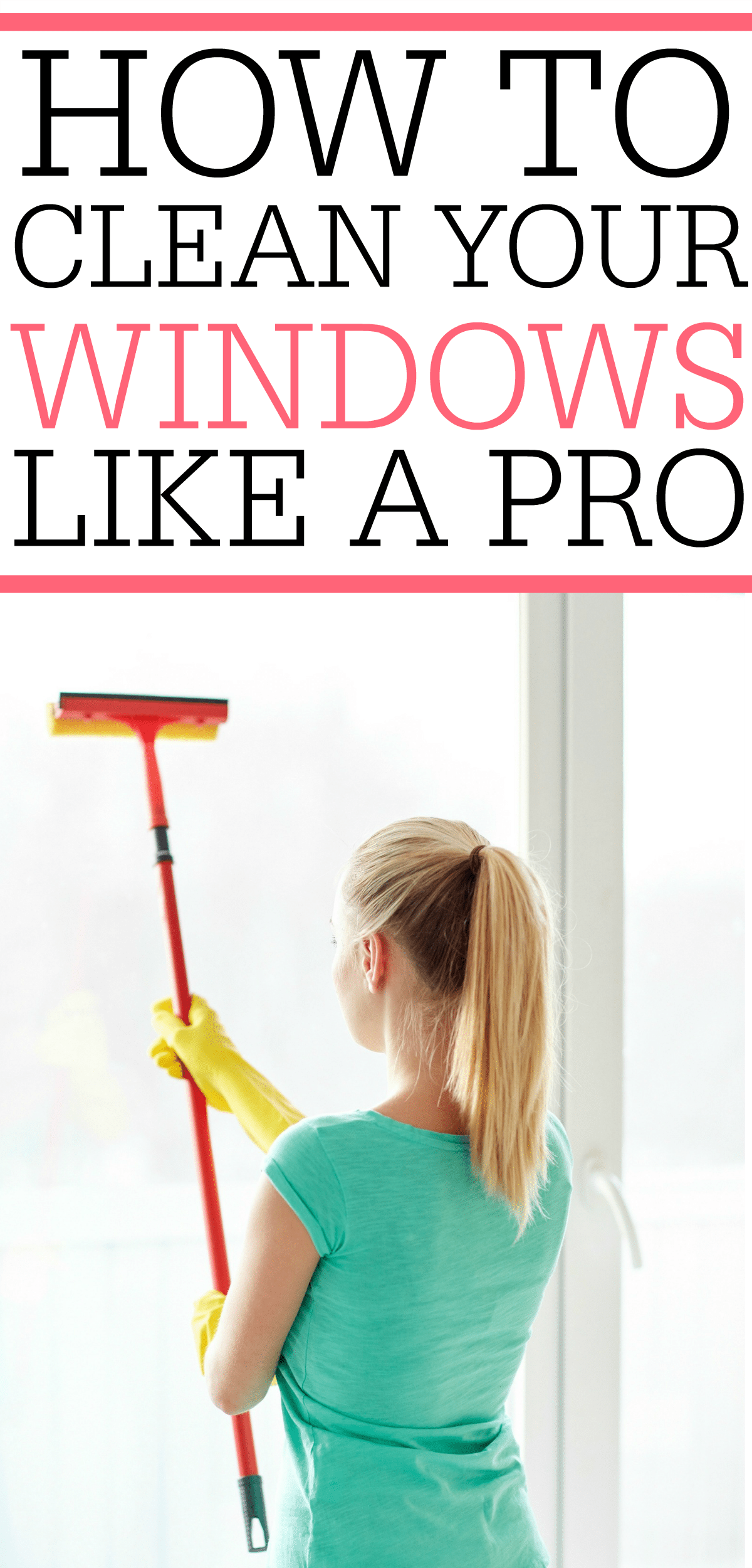 Check Out How To Clean Windows Like A Pro