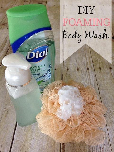 DIY Foaming Body Wash