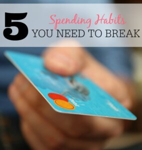 5 Spending Habits You Need To Break