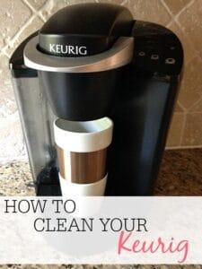 Clean Your Keurig The Easy Way