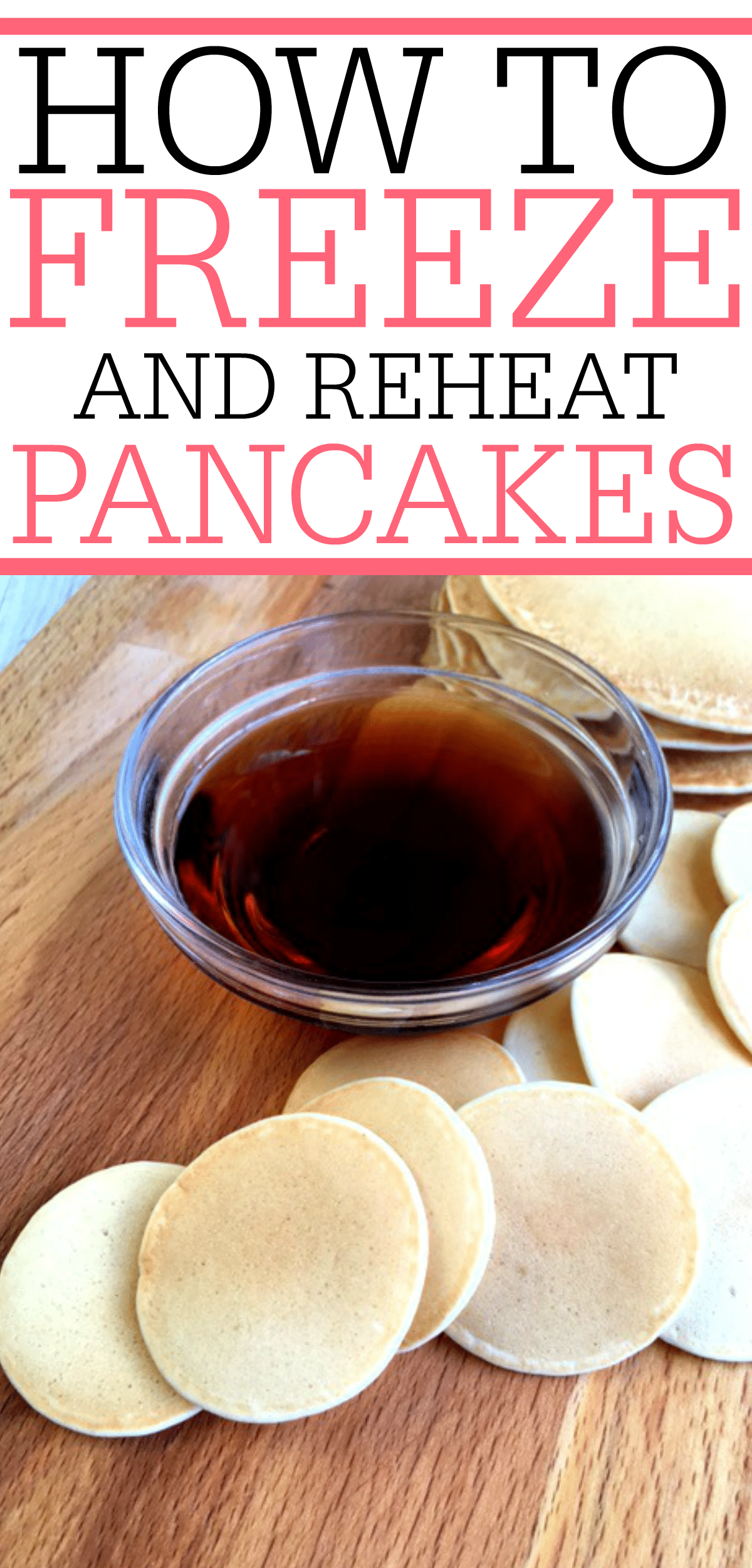 Looking for an easy breakfast for the kids? Try these tips for freezing pancakes. You can reheat them in the microwave and have the kids out the door quick.