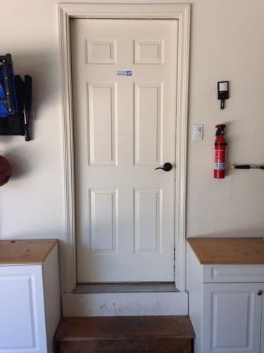 garage entry door. Garage Door Redo jpg  10 Entry Frugally Blonde