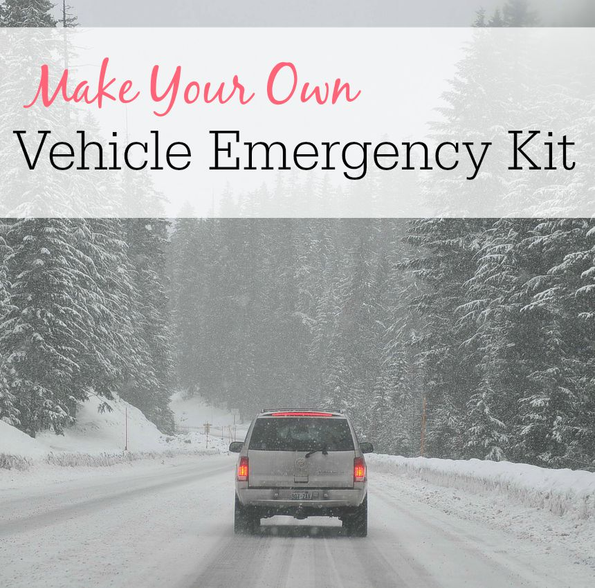 Make Your Own Vehicle Emergency Kit