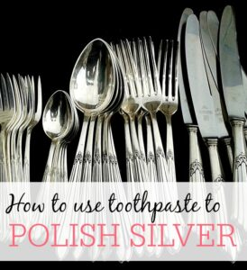 How To Use Toothpaste To Clean Silver