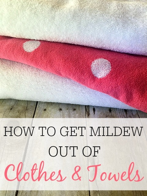 How To Get Mildew Out Of Clothes And Towels Frugally Blonde