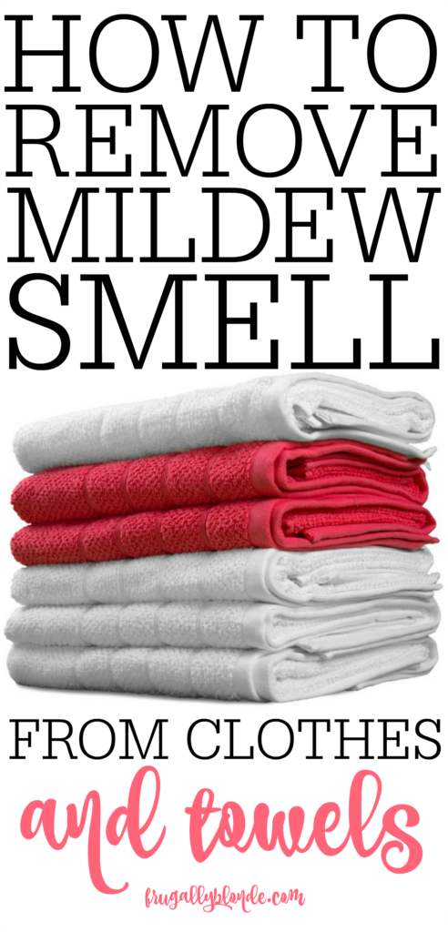 how to remove mildew smell from clothes and towels frugally blonde. Black Bedroom Furniture Sets. Home Design Ideas