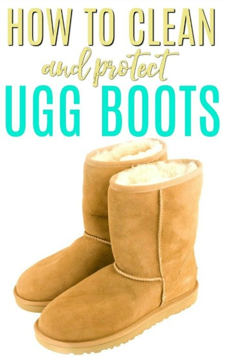 2a3c54e2658 How To Clean and Protect Uggs - Frugally Blonde
