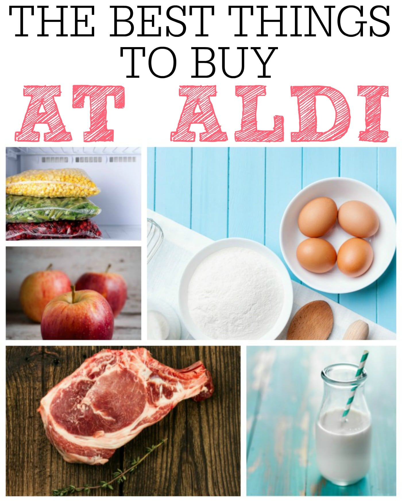 The Best Things to Buy at Aldi - Frugally Blonde