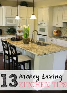money saving kitchen tips