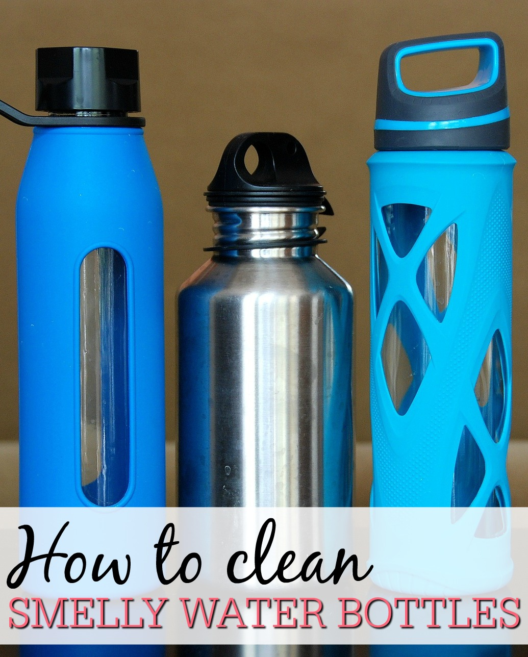 how to clean smelly water bottles frugally blonde. Black Bedroom Furniture Sets. Home Design Ideas