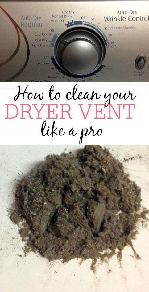 How To Clean Your Dryer Vent Like A Pro Frugally Blonde