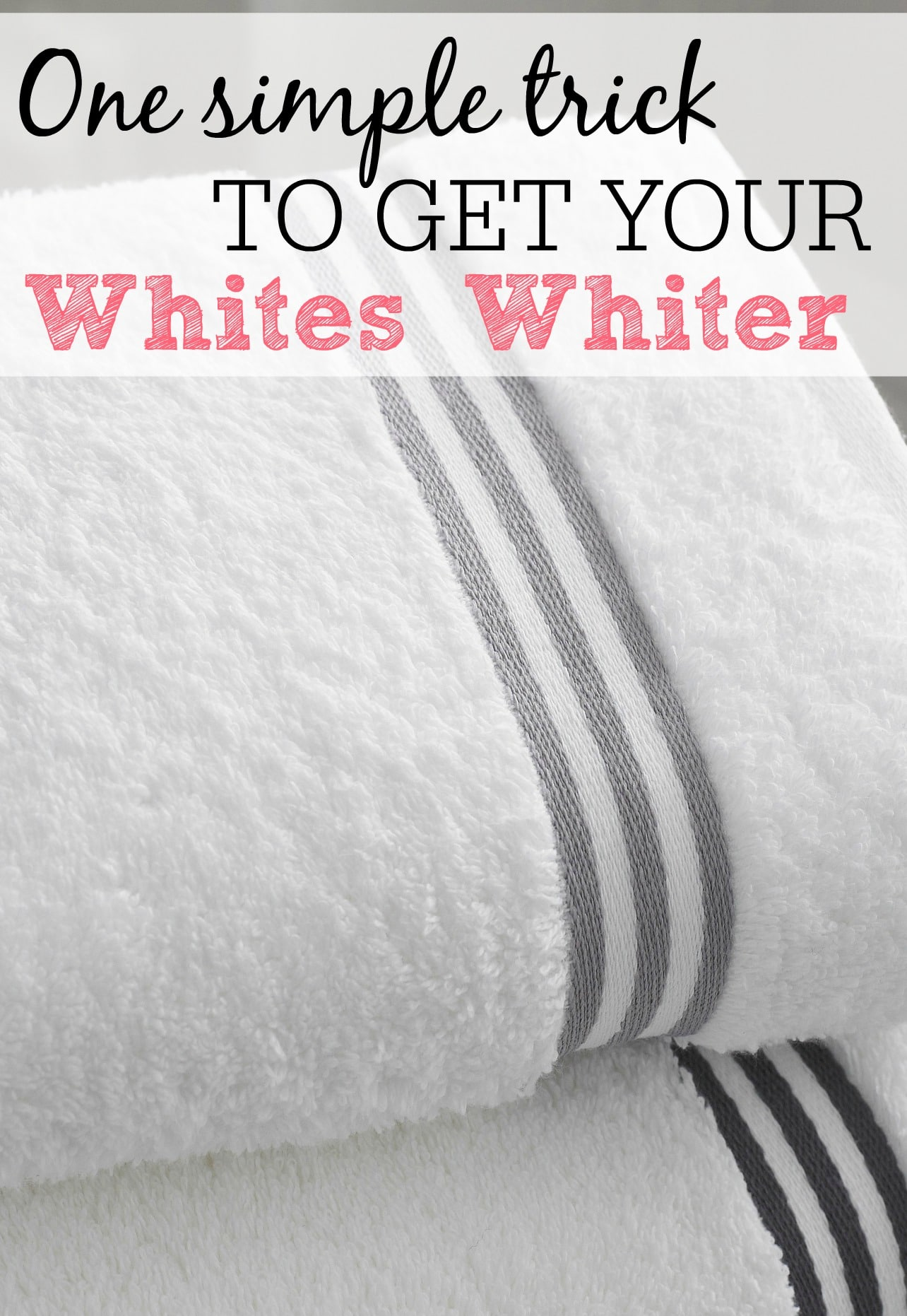 one simple trick to get your whites whiter