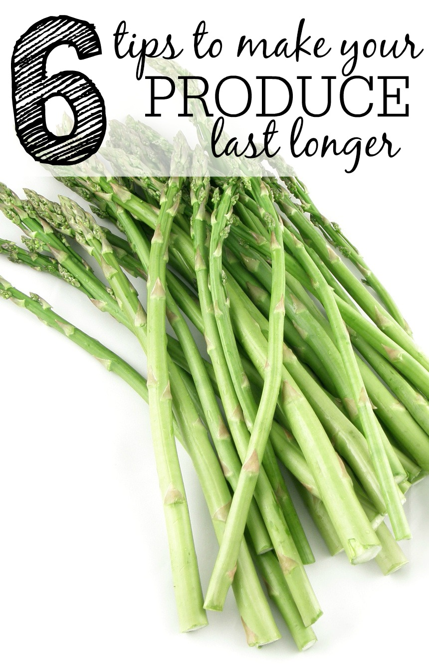 Tips To Make Your Produce Last Longer