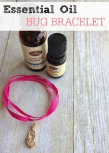 Essential Oil Bug Bracelet