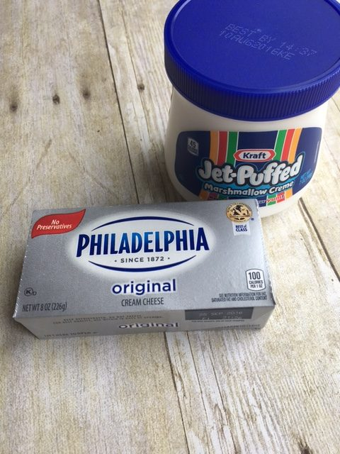 marshmallow dip stuff
