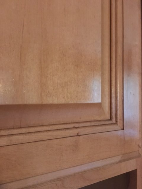How To Remove Grease From Kitchen Cabinets - Frugally Blonde