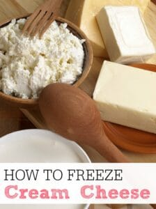 How To Freeze Cream Cheese