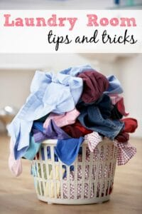 Laundry Room Tips and Tricks