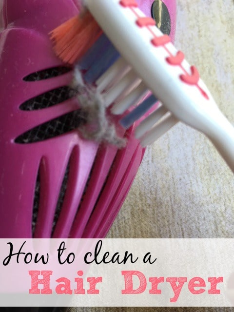 How to clean a hair dryer