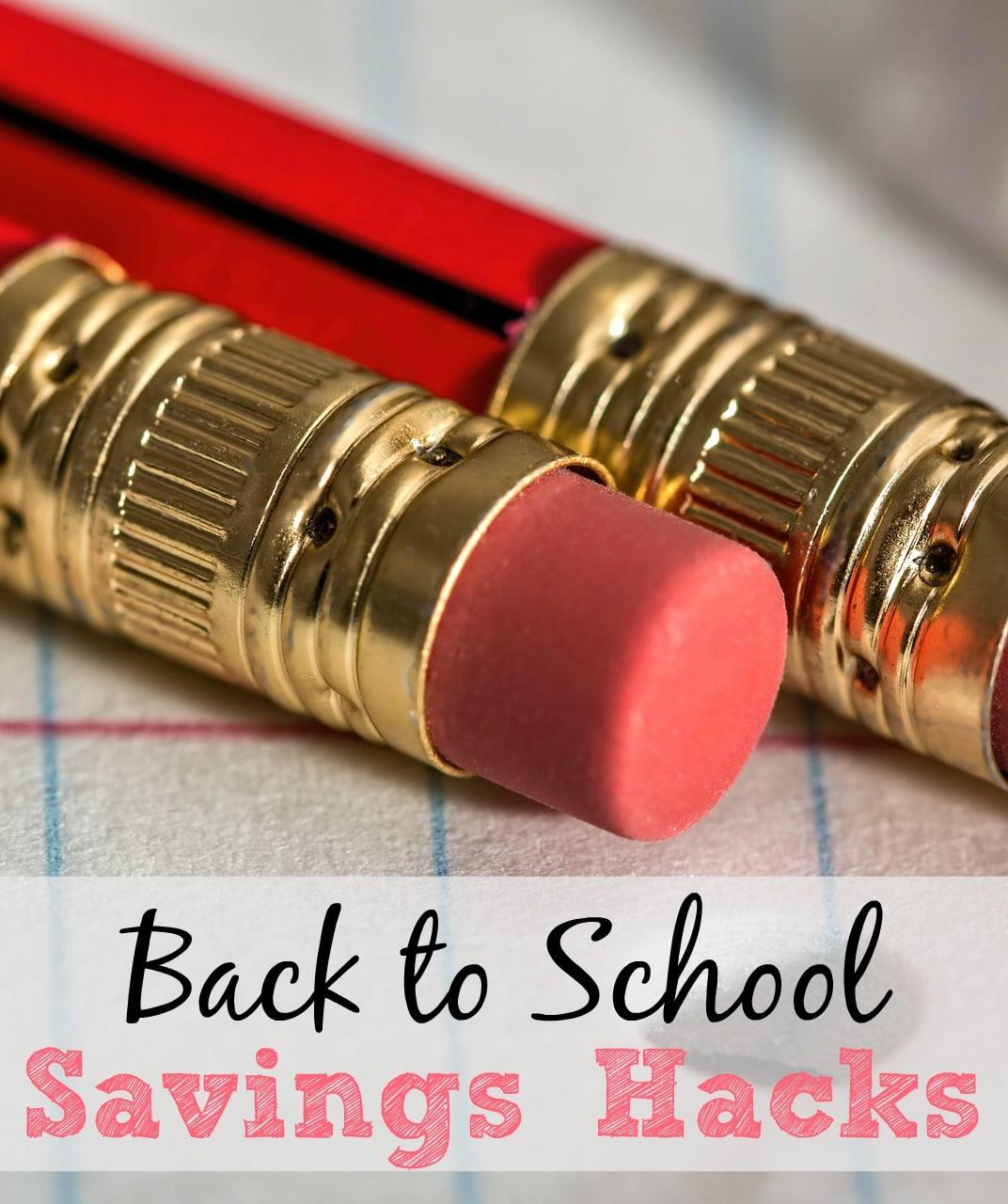 back to school savings hacks