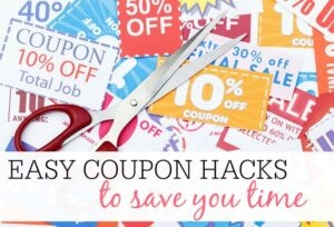 Easy Coupon Hacks To Save You Time