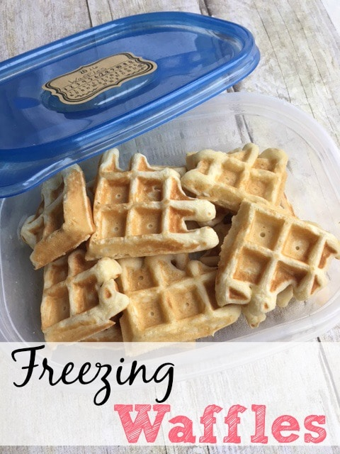 Simple Tips For Freezing Waffles