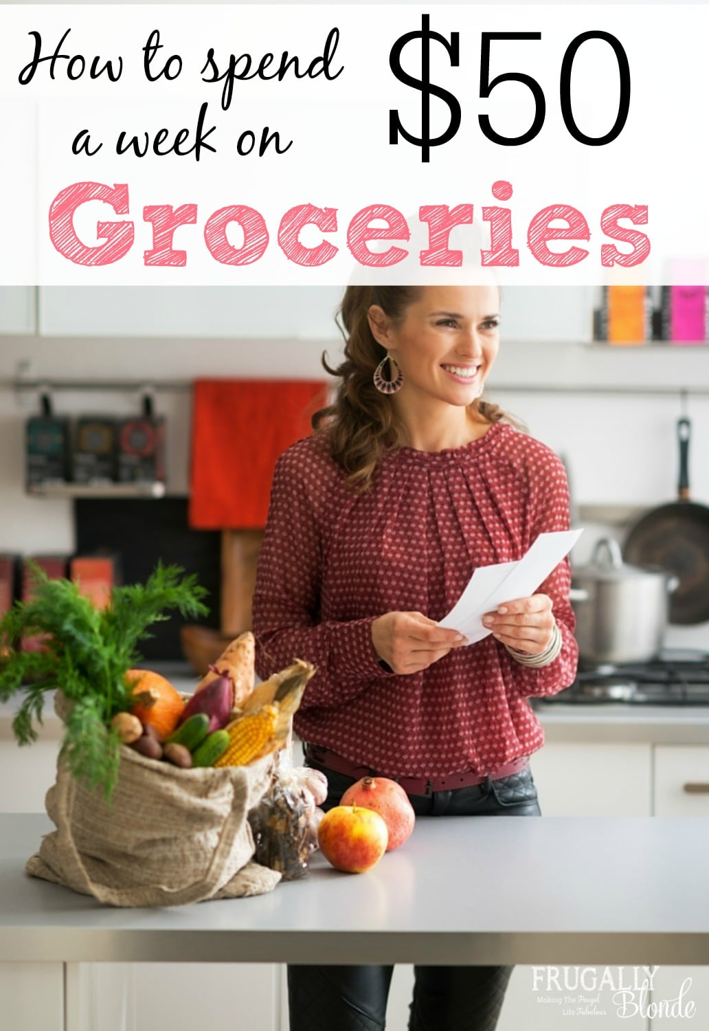 how to spend $50 a week on groceries