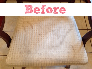 DIY upholstery before