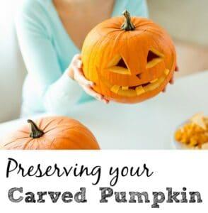 Preserving A Carved Pumpkin