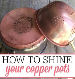 How To Shine Your Copper Pots