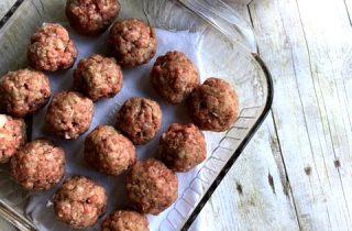 Easy Freezer Friendly Meatballs