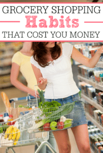 Grocery Shopping Habits That Cost You Money